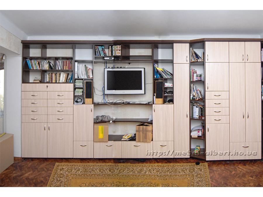 Мебельные стенки на заказ: изготовим стенки под закз по инди.