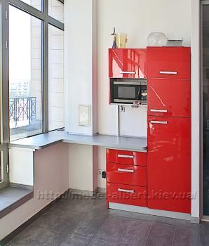 Кухня для офиса с угловой столешницей