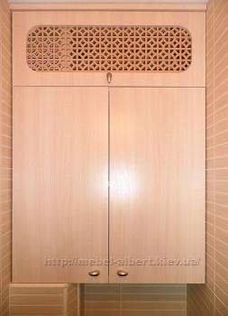 Встроенный шкаф в санузел.